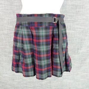 American Eagle Plaid Schoolgirl Skirt 6